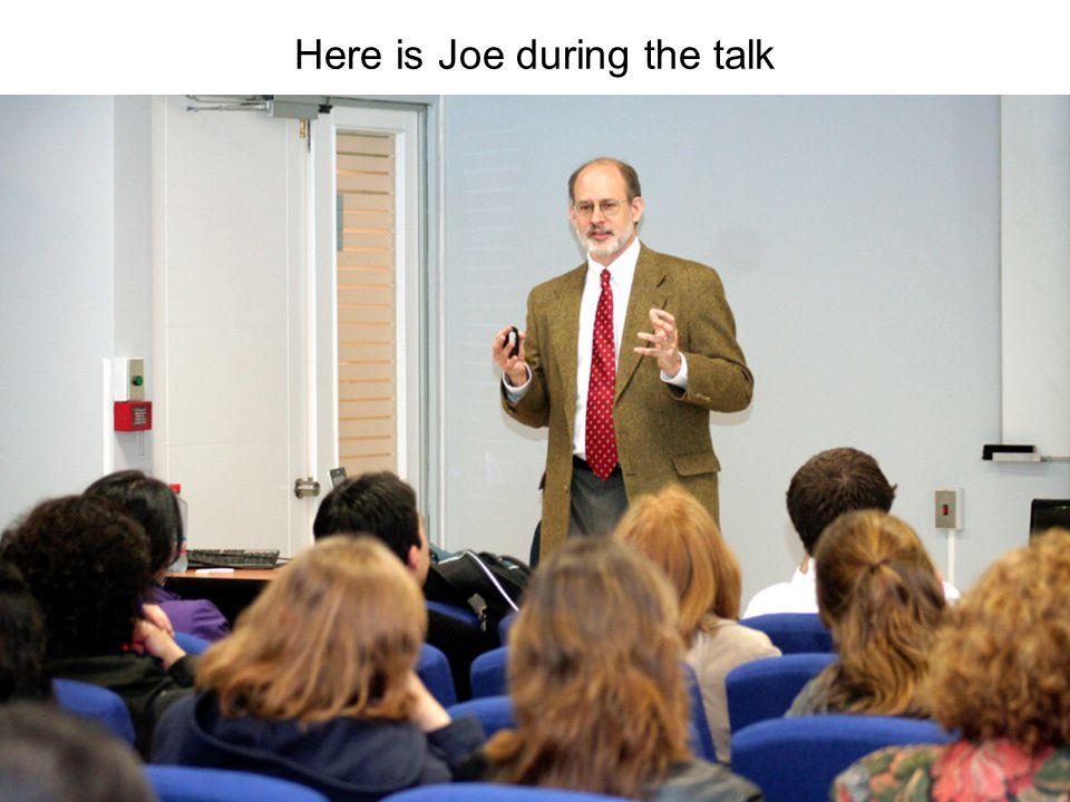 PowerPoint slides available www.joemcveigh.org