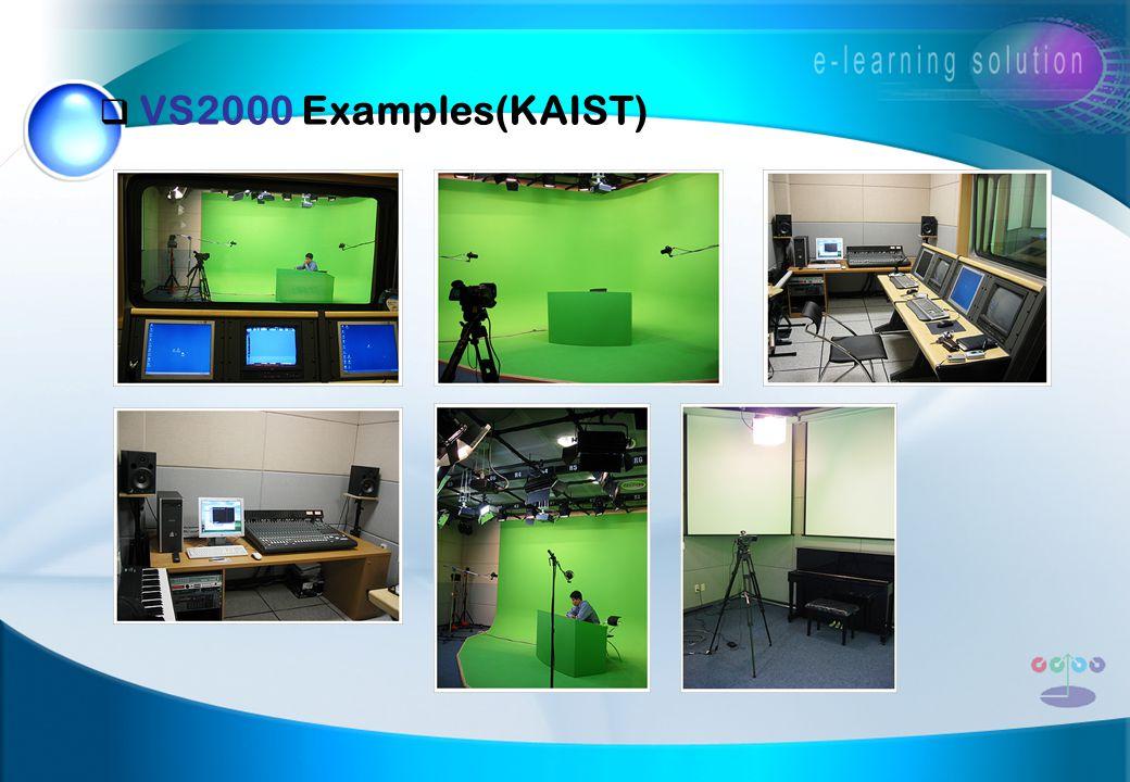  VS2000 Examples(KAIST)