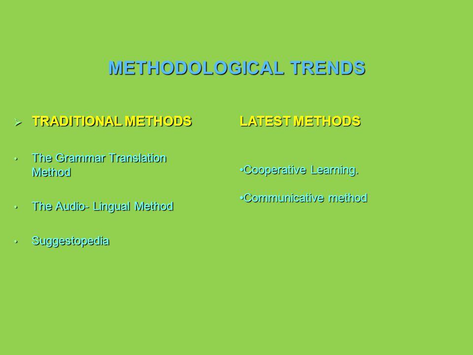 PEDAGOGICAL MODELS Traditional Activist of a new school Behaviorist Cognitive Contextual Pedagogical