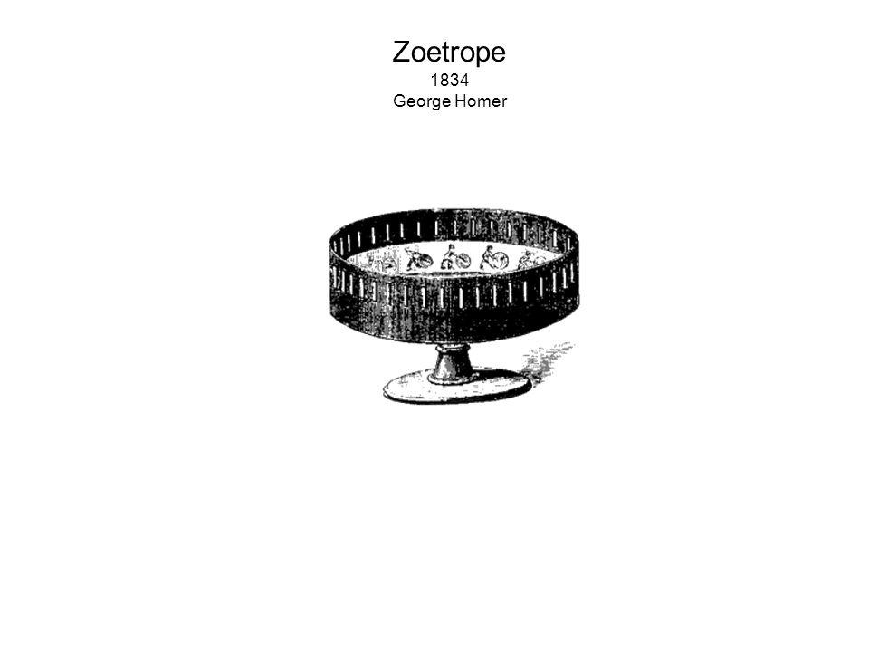 Zoetrope 1834 George Homer
