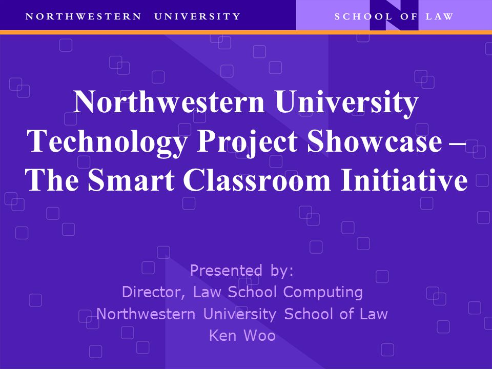 A/V: Smart Classrooms The objective was to integrate technology and have fixed projector and podium in classrooms for multimedia presentations  Two templates for Rooms size (Large or Small)  A Total of 14 Rooms of which 8 have A/V.