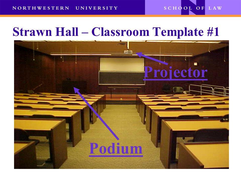 Strawn Hall - Podium