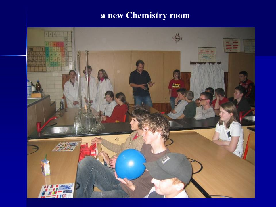 a new Chemistry room