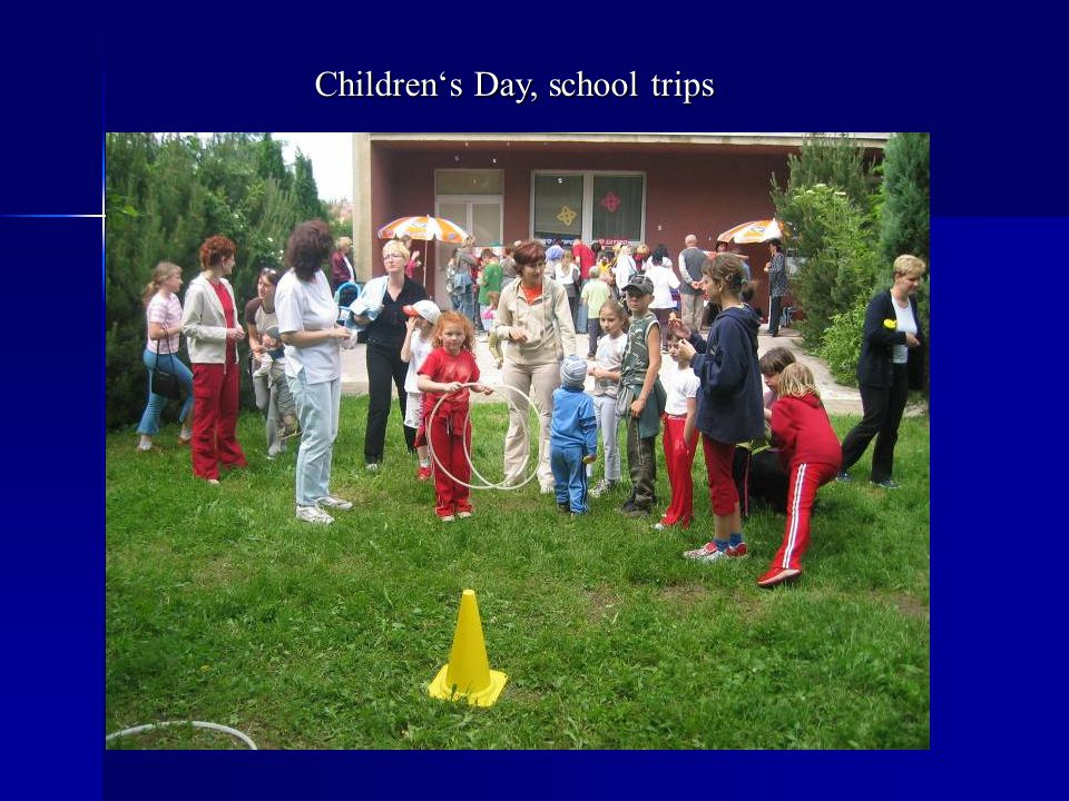 Children's Day, school trips