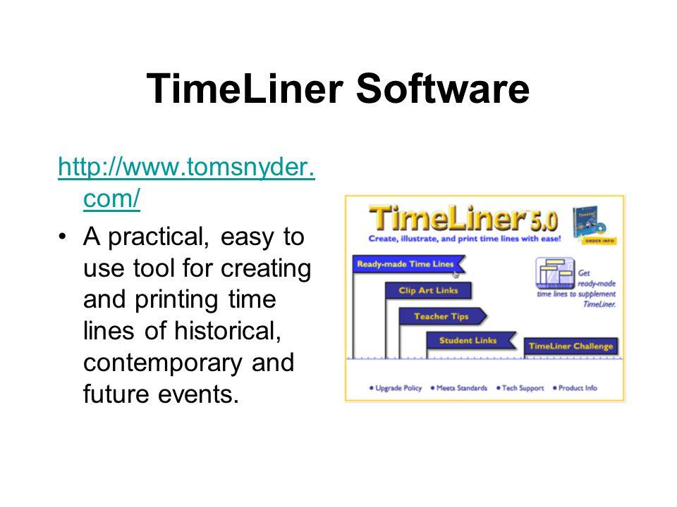 TimeLiner Software http://www.tomsnyder.