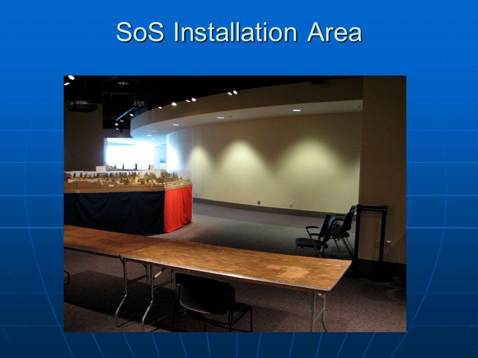 SoS Installation Area