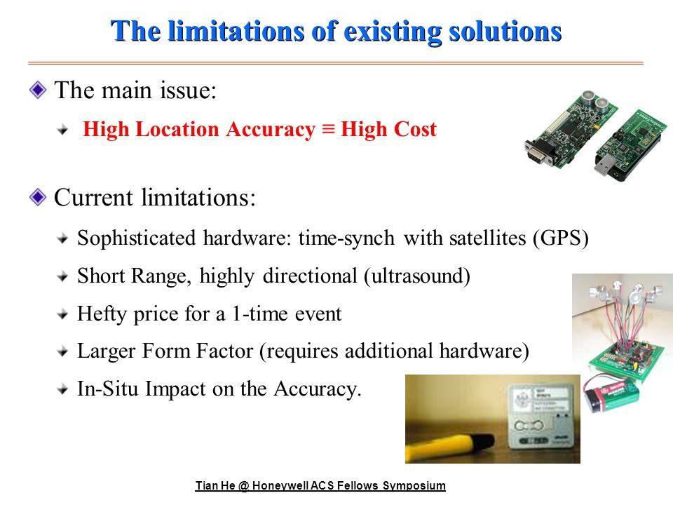 Tian He @ Honeywell ACS Fellows Symposium ID ? Concept of Operation ID ?