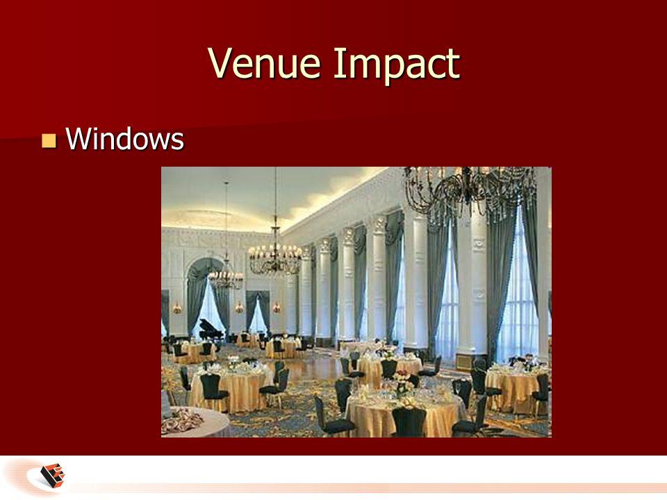 Venue Impact Windows Windows