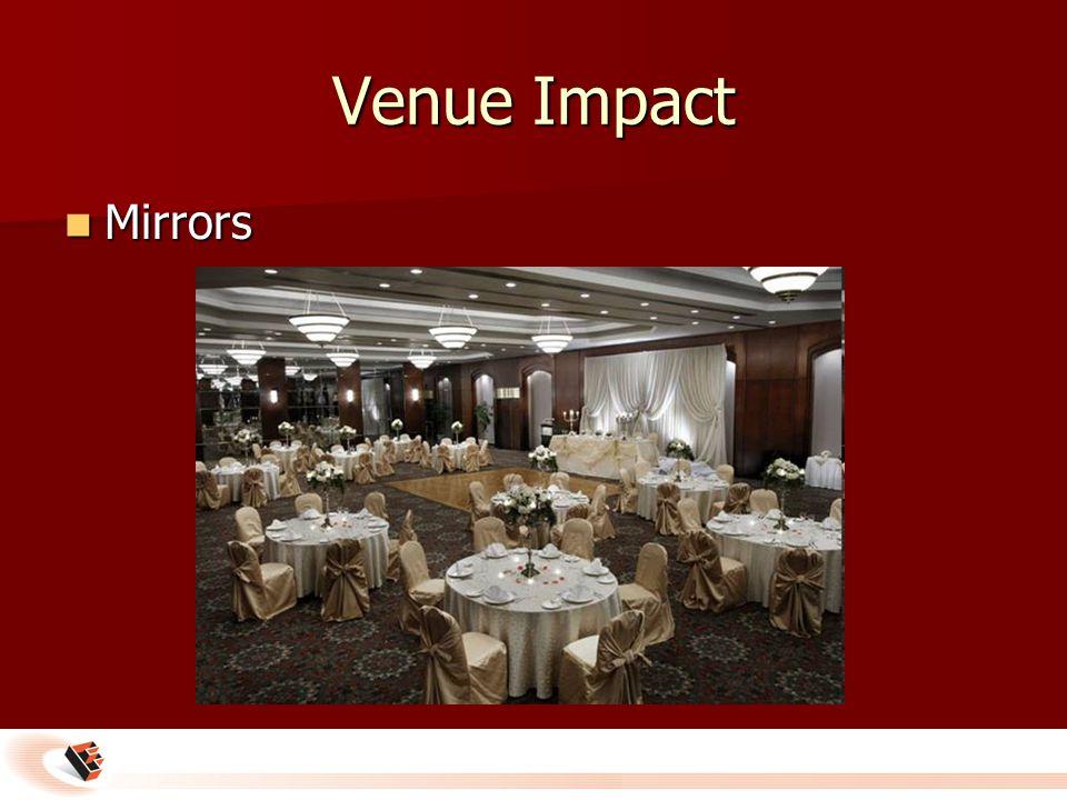 Venue Impact Mirrors Mirrors
