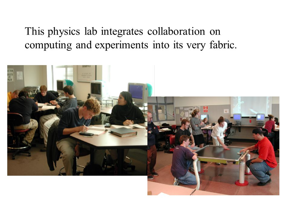 This physics lab integrates collaboration on computing and experiments into its very fabric.