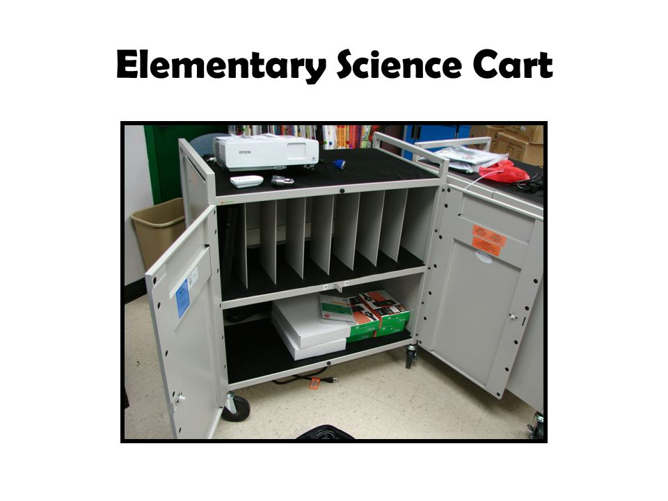 Elementary Science Cart
