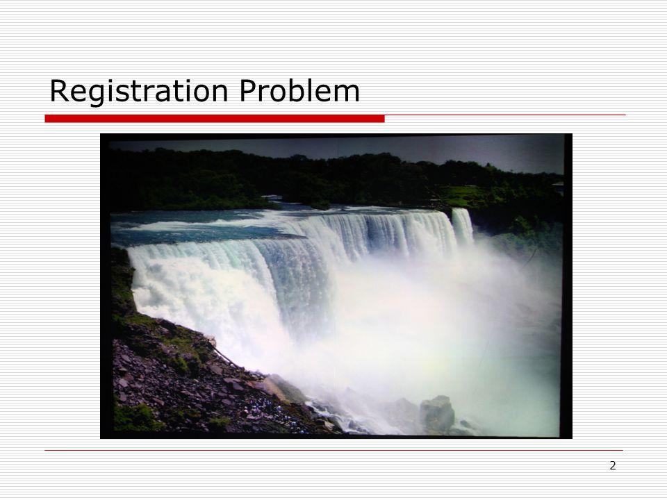 2 Registration Problem