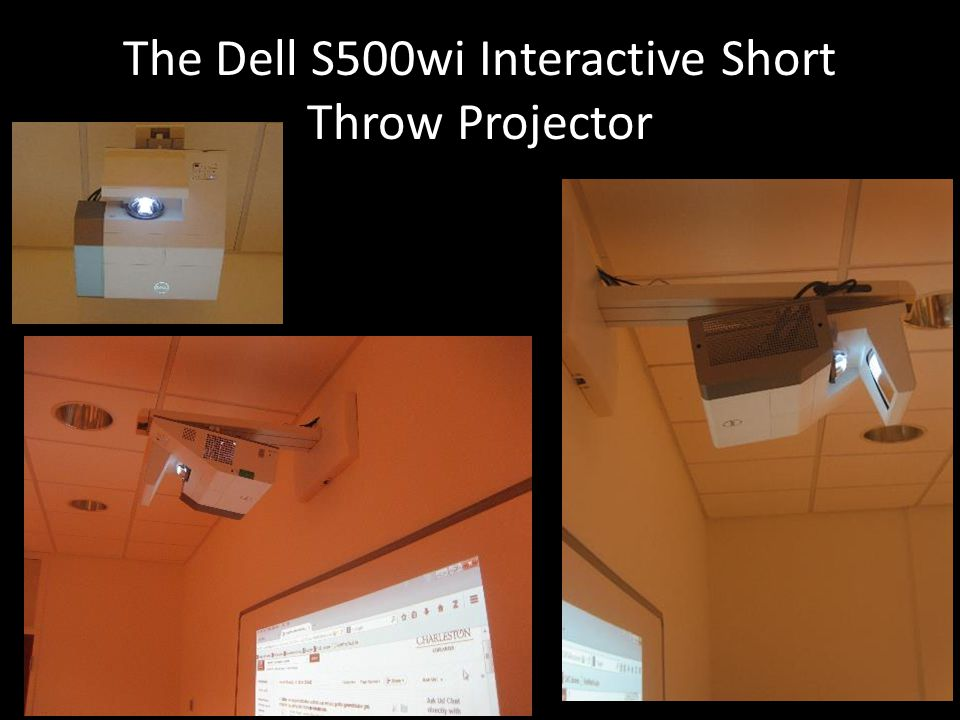 The Dell S500wi Interactive Short Throw Projector