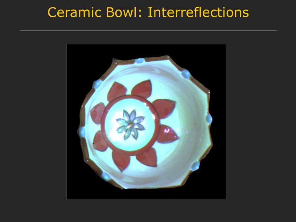 Ceramic Bowl: Interreflections