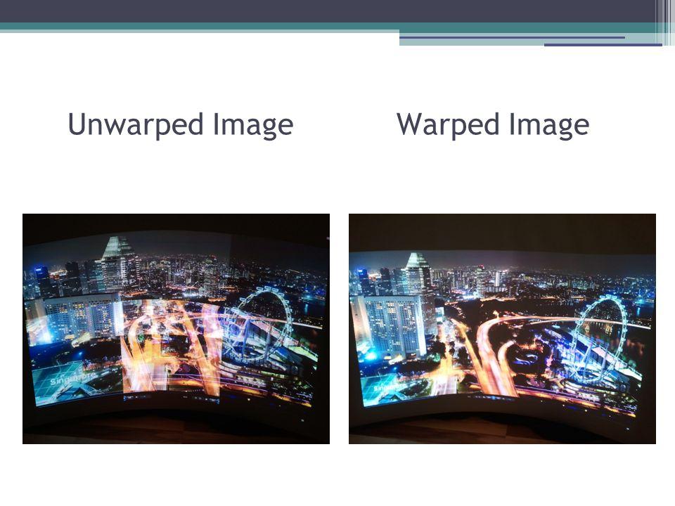 Unwarped Image Warped Image