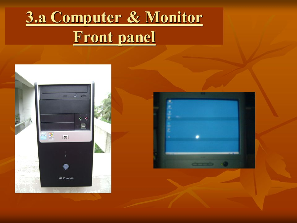 3.b CPU Back panel Keyboard Mouse Monitor / Projector Opsrey card cable.