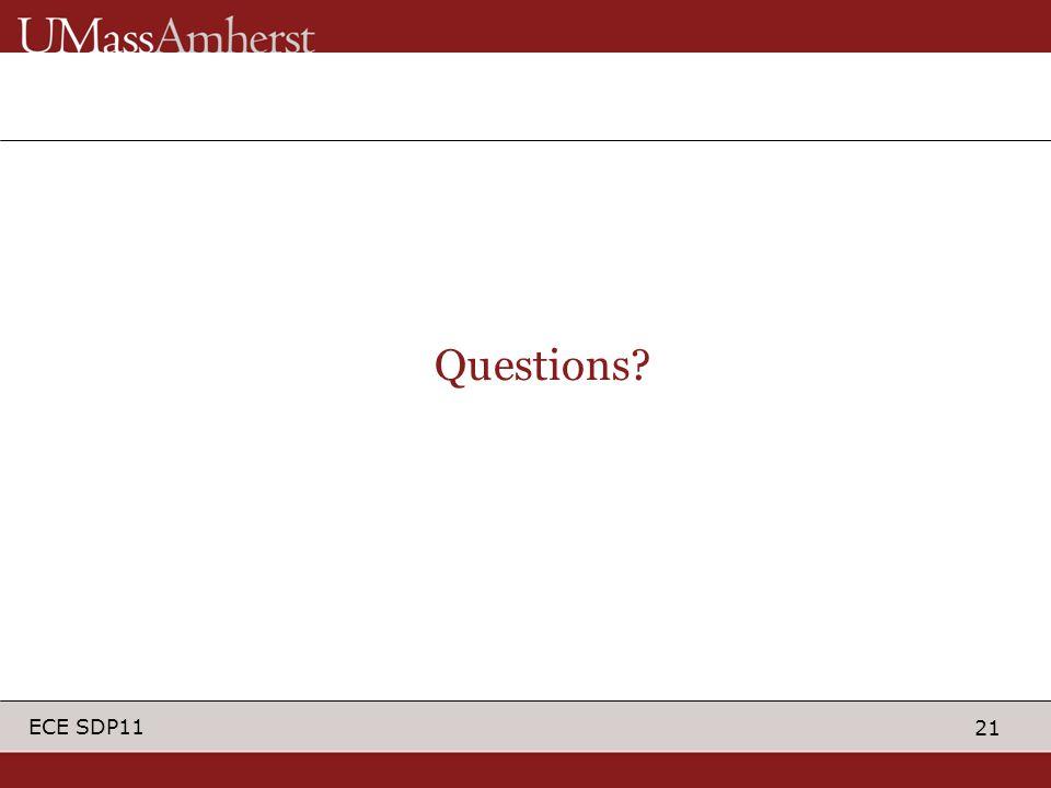 21 ECE SDP11 Questions