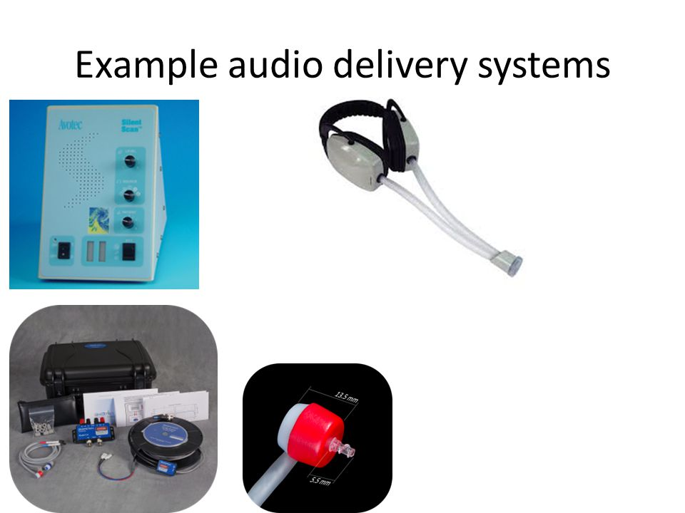 Example audio delivery systems