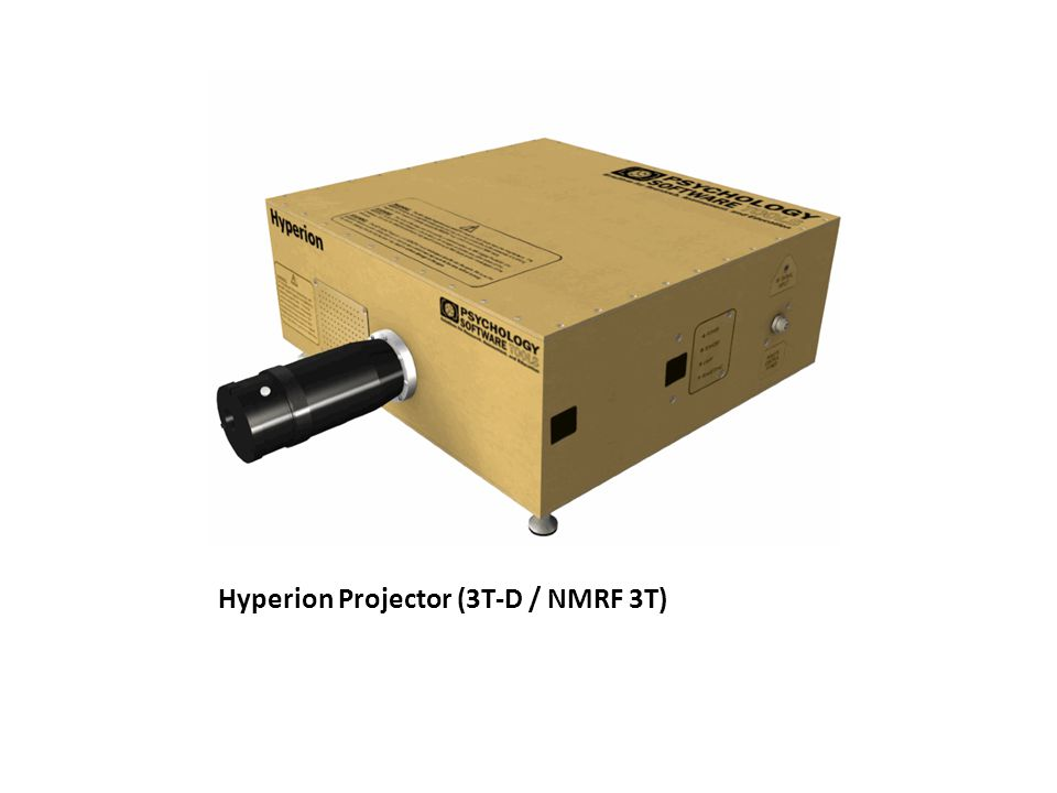 Hyperion Projector (3T-D / NMRF 3T)