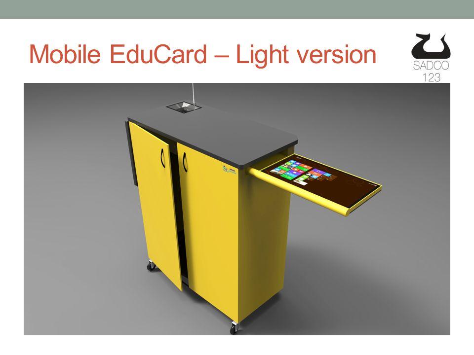 Mobile EduCard – Light version