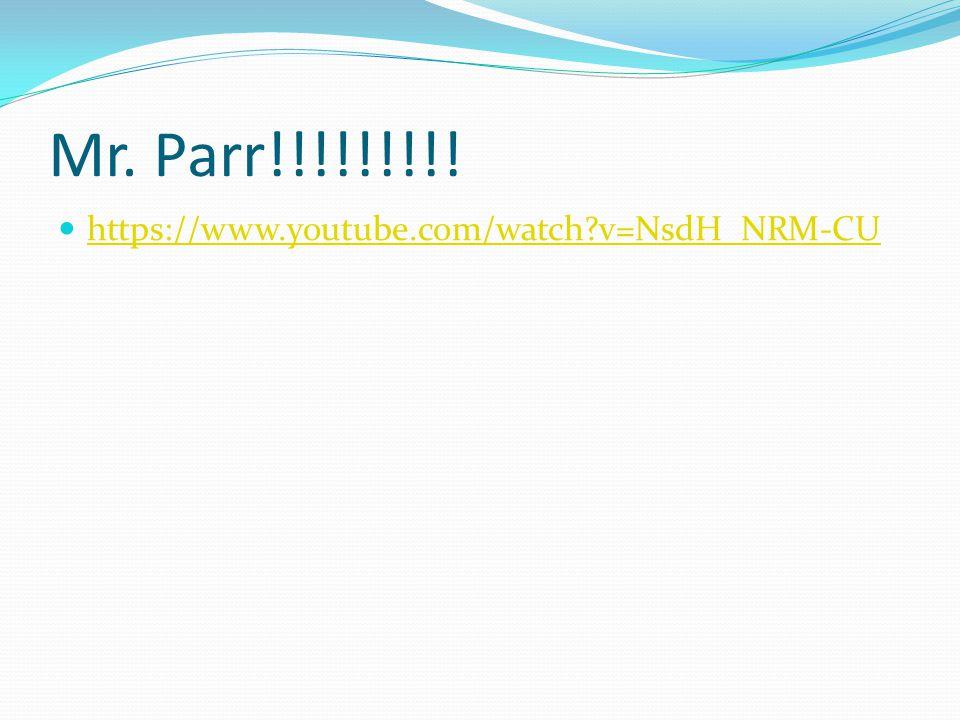 Mr. Parr!!!!!!!!! https://www.youtube.com/watch v=NsdH_NRM-CU