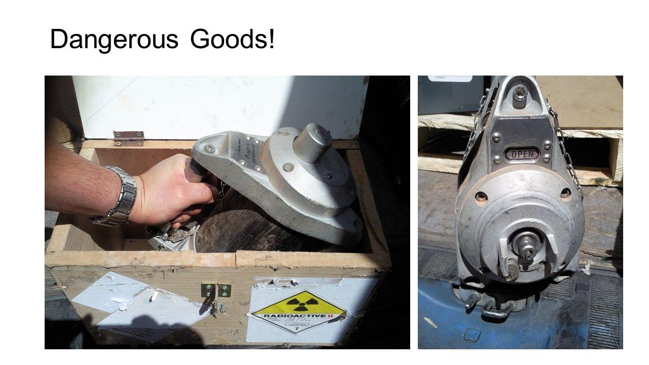 Dangerous Goods!