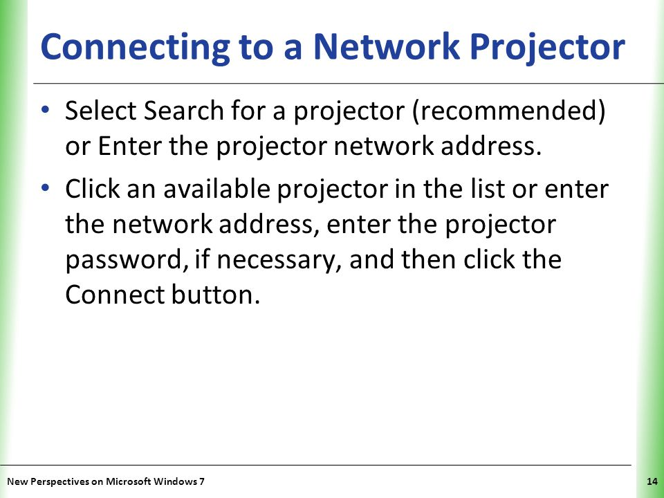 XP Exploring Network Concepts New Perspectives on Microsoft Windows 715