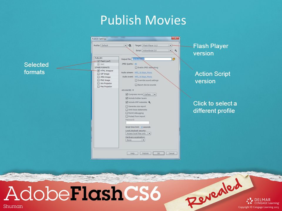 While you can take an already developed Flash file and repurpose it for mobile devices by completing the AIR publishing process, it will not have any of the features users are accustomed to, such as pinch to zoom or swipe, unless you have specifically added these features, called gestures and events, to your Flash file.