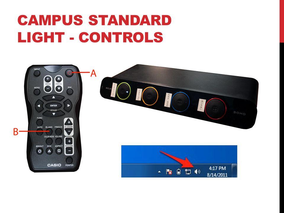 CAMPUS STANDARD LIGHT - CONTROLS