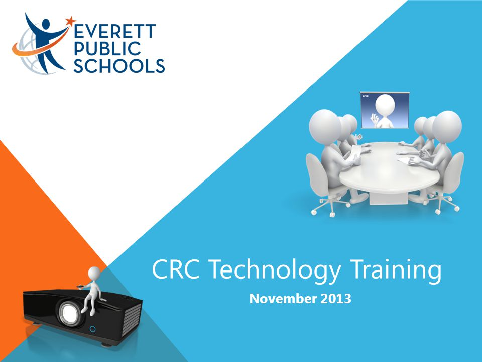 CRC Technology Training November 2013