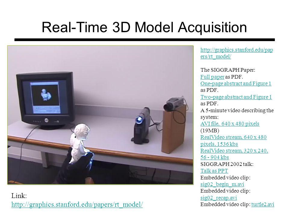 Microsoft Kinect http://users.dickinson.edu/~jmac/selected-talks/kinect.pdf