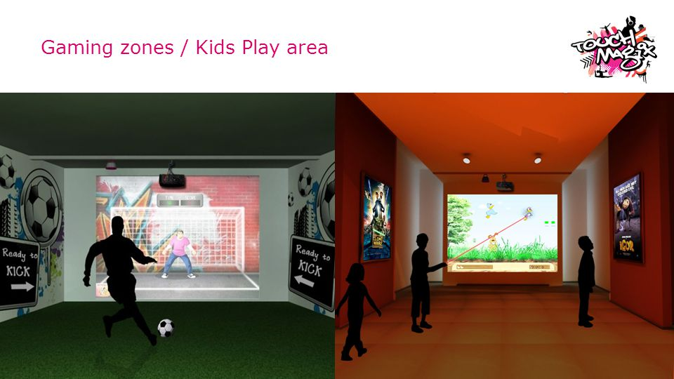 Gaming zones / Kids Play area © TouchMagix Media Pvt. Ltd.