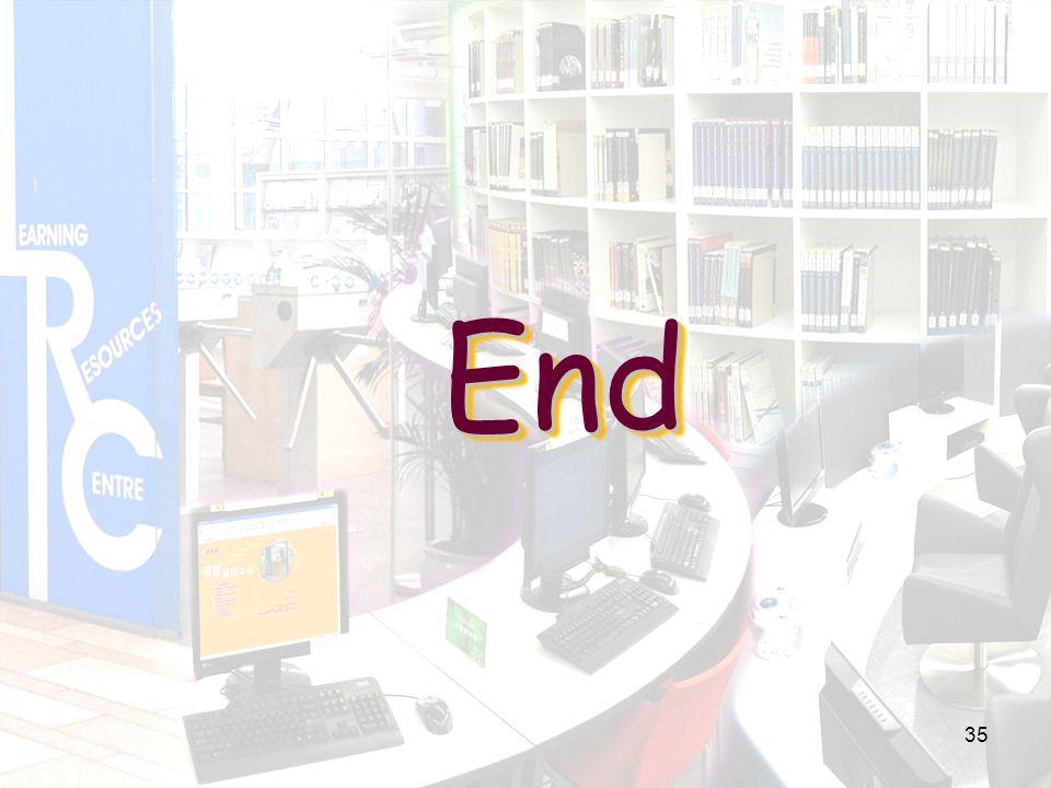 EndEnd 35