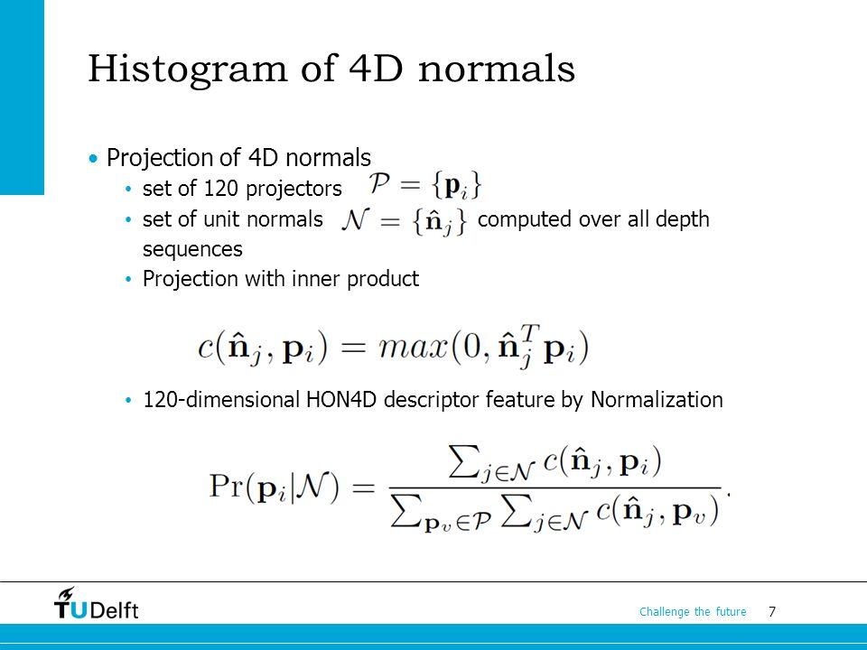 8 Challenge the future Non-Uniform Quantization == Projectors Refinement Uniform space quantization is not always optimal.