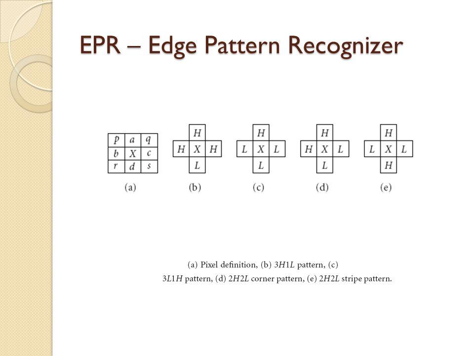 EPR – Edge Pattern Recognizer