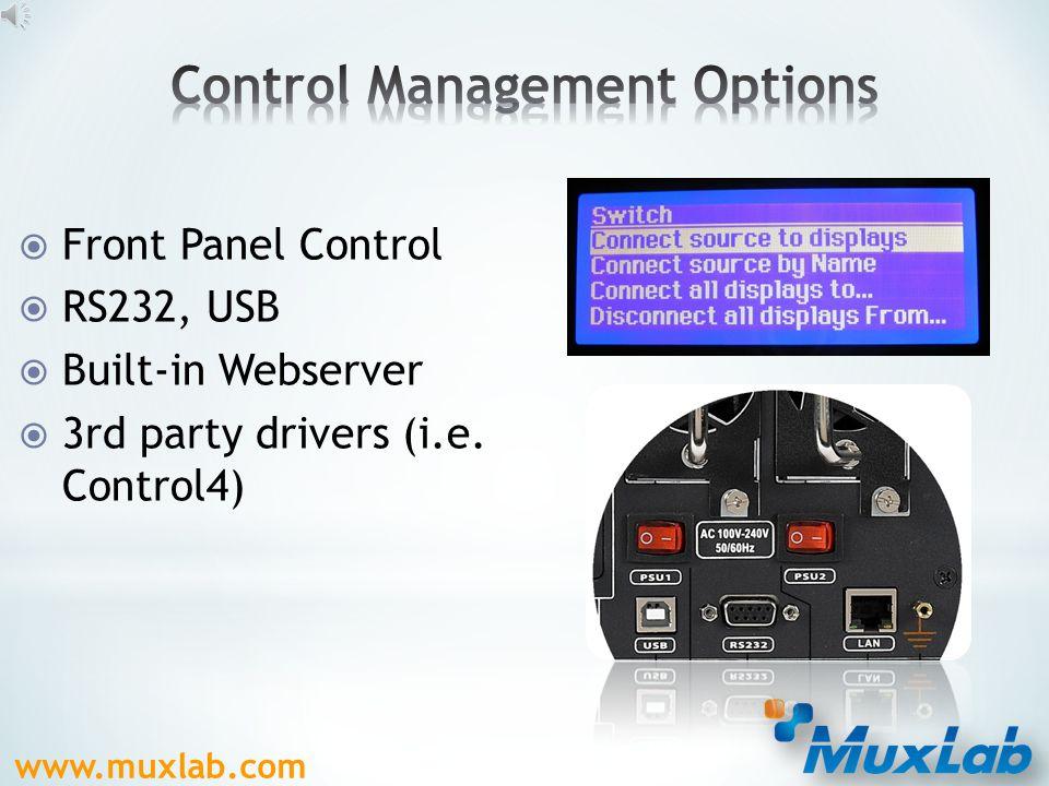 www.muxlab.com  HDMI (500475)  HDBaseT (500476)