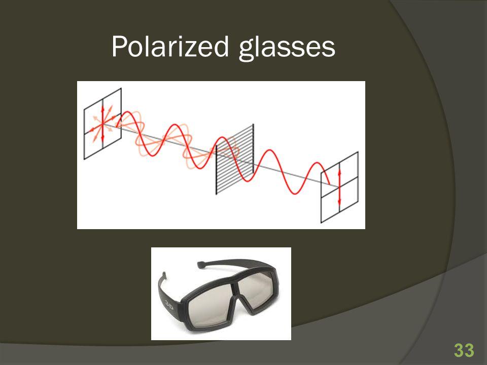 Polarized glasses 33