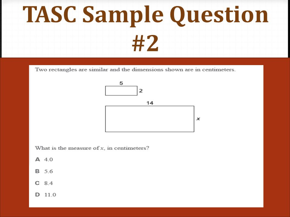 TASC Sample Question #2