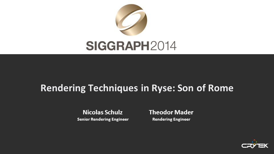 Siggraph 2014 Reflection Occlusion Disabled