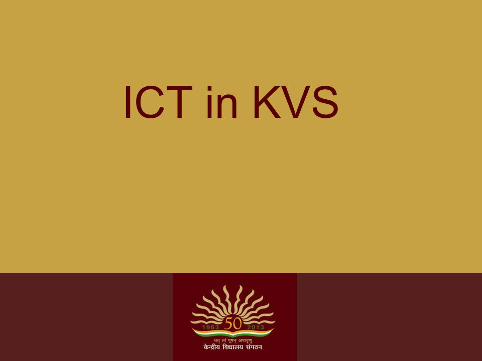 Background ICT infrastructure with appropriate technology and its seamless integration with curricular transaction: crucial for a rich enabling environment for collaborative learning, multidisciplinary problem solving approach and promotion of critical thinking.
