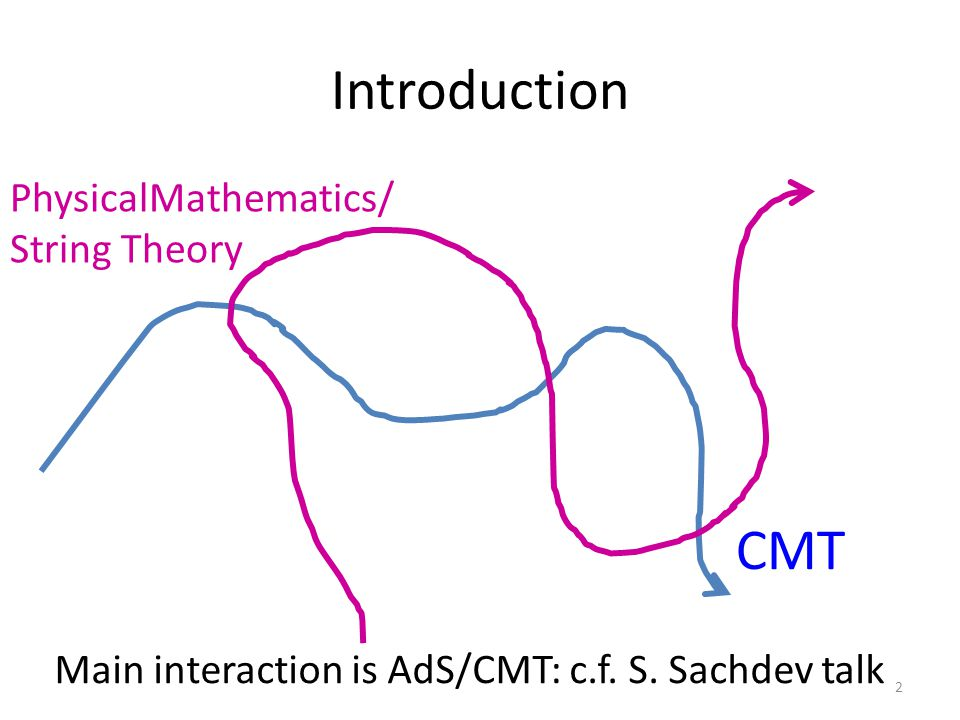 Conclusions 73 We discussed three transverse intersections of PM & CMT A suggested generalization of the K-theory approach to the classification of topological states of matter Some potentially relevant theorems about 3 and 4 dimensional abelian gauge theories Most speculative of all: Applications of higher category theory to classification of defects.