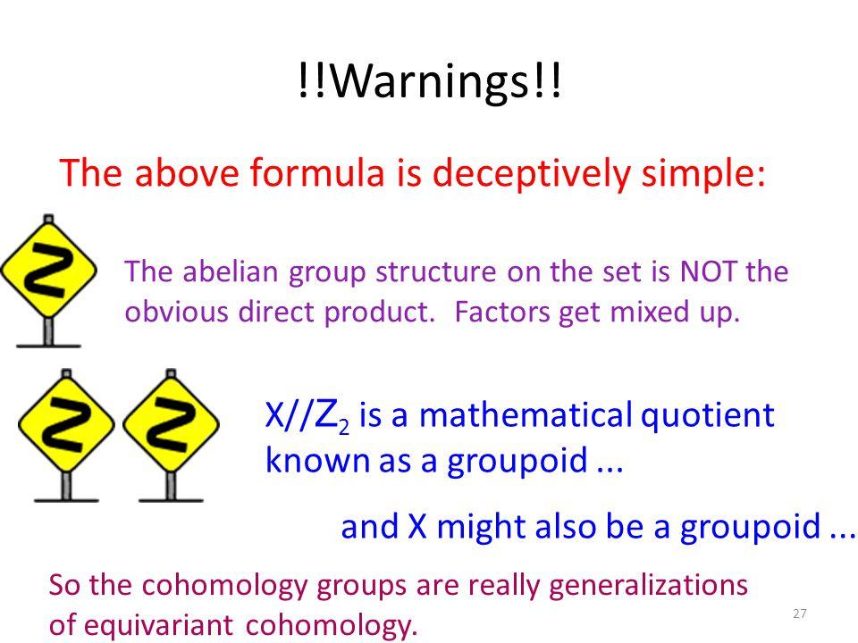 !!Warnings!.