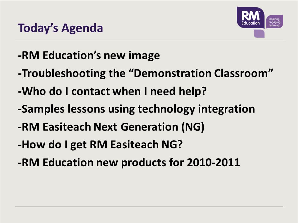 RM Education Resources Still have more questions about how to use equipment or about RM Easiteach.