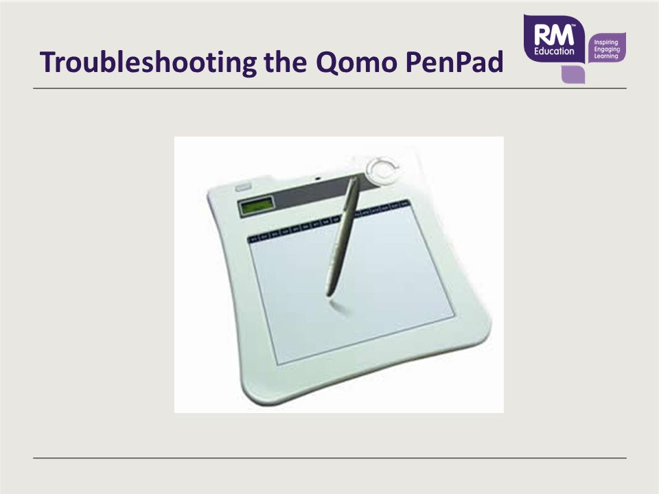 Troubleshooting the Qomo PenPad