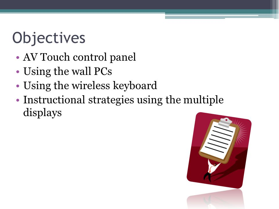 Collaboration Classroom Instructor's stationAV touch control panel Multiple wall displays EPSON projector