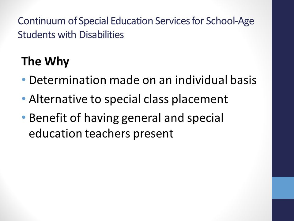 Roles and Responsibilities General Education Teacher Daily routines Curriculum planning Whole group lessons Small group instruction Grade level progress monitoring Special Education Teacher Monitor paraprofessionals Specially designed instruction Related service scheduling Individual student needs based on IEP Progress monitoring