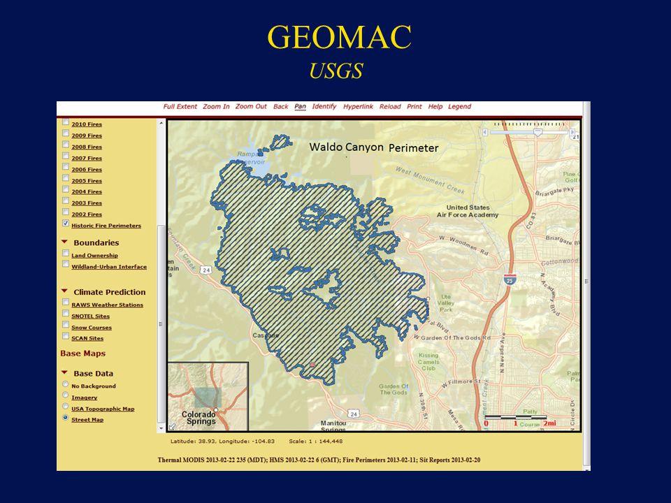 GEOMAC USGS