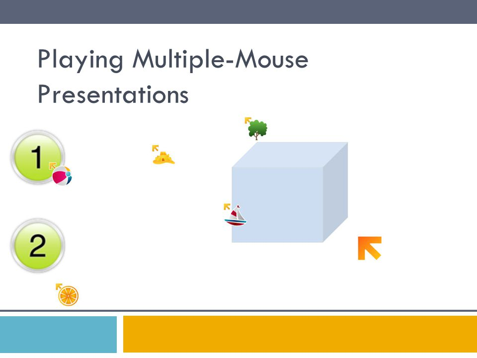 Playing Multiple-Mouse Presentations
