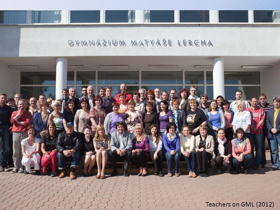 Teachers on GML (2012)