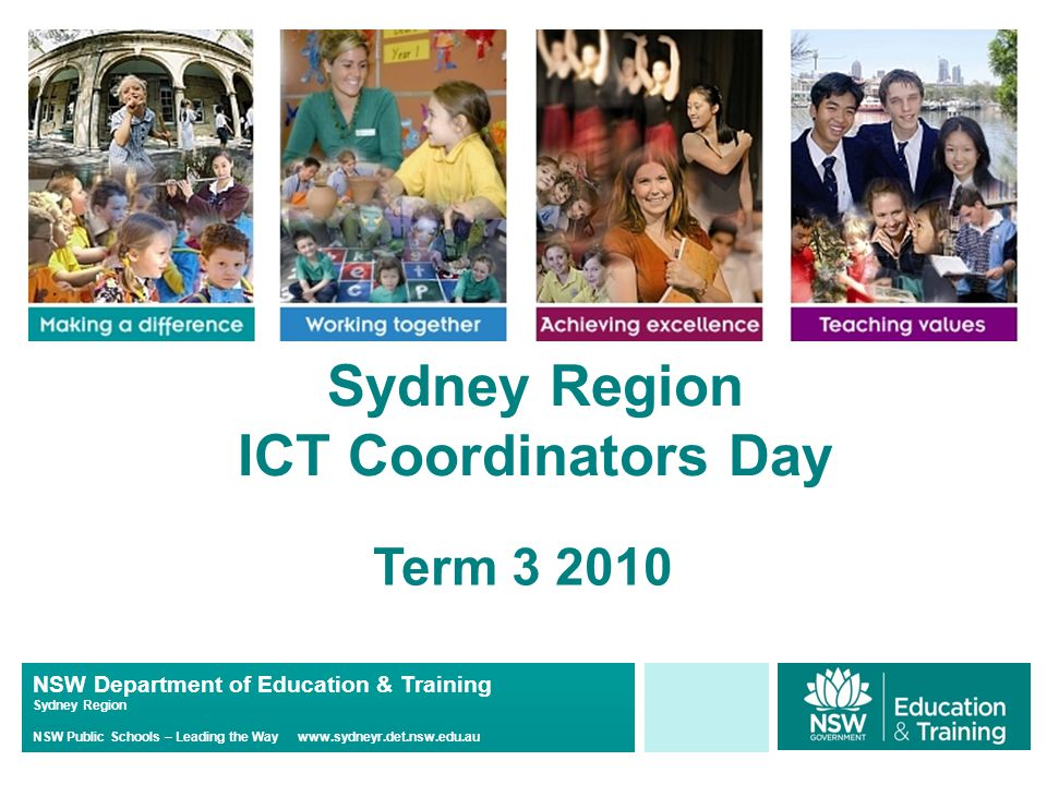 NSW Department of Education & Training Sydney Region NSW Public Schools – Leading the Way www.sydneyr.det.nsw.edu.au STEMS 2010 STEMS is continuing in Sydney Region –(it's 9 th year – started in 2002 in St George District) Schools and Year 6 teachers will need to complete the data entry for student transition to high school by Wk 9 - Term 3 An email will be sent to all high schools in Week 10 this term announcing the launch of STEMS for 2010 http://stuhasic.com/stems